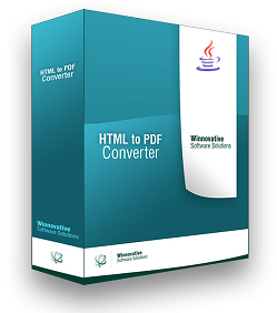 Winnovative HTML to PDF Converter Library for Java